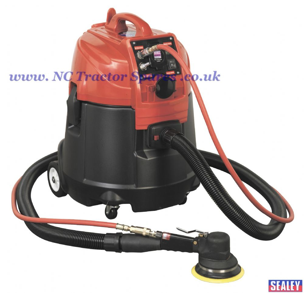 Combination Dust-Free/Wet & Dry Vacuum System Air/Electric - 28ltr with MAT150AS
